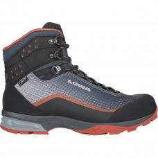 Lowa Irox GTX Mid Trekking Shoe (Navy/Red)