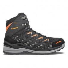 Lowa Innox Pro GTX Mid Hiking Shoe (Schwarz/Orange)