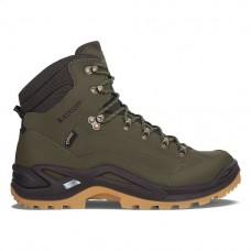 Lowa Renegade GTX Mid Hiking shoe (Forest/Dark Brown)