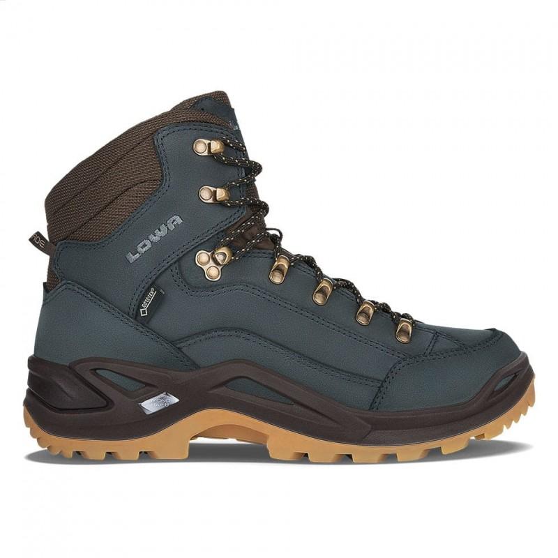 Lowa Renegade GTX Mid Hiking shoe (Navy/Honey)