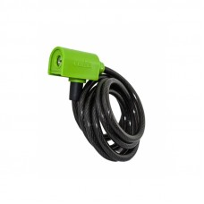 Luma Enduro 7334 Spiral Cycle Lock 185cm Green