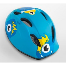MET Buddy Kids Cycling Helmet Blue Monsters Matt 2019