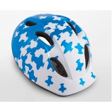 MET Buddy Kids Cycling Helmet White Blue Airplanes Matt 2019