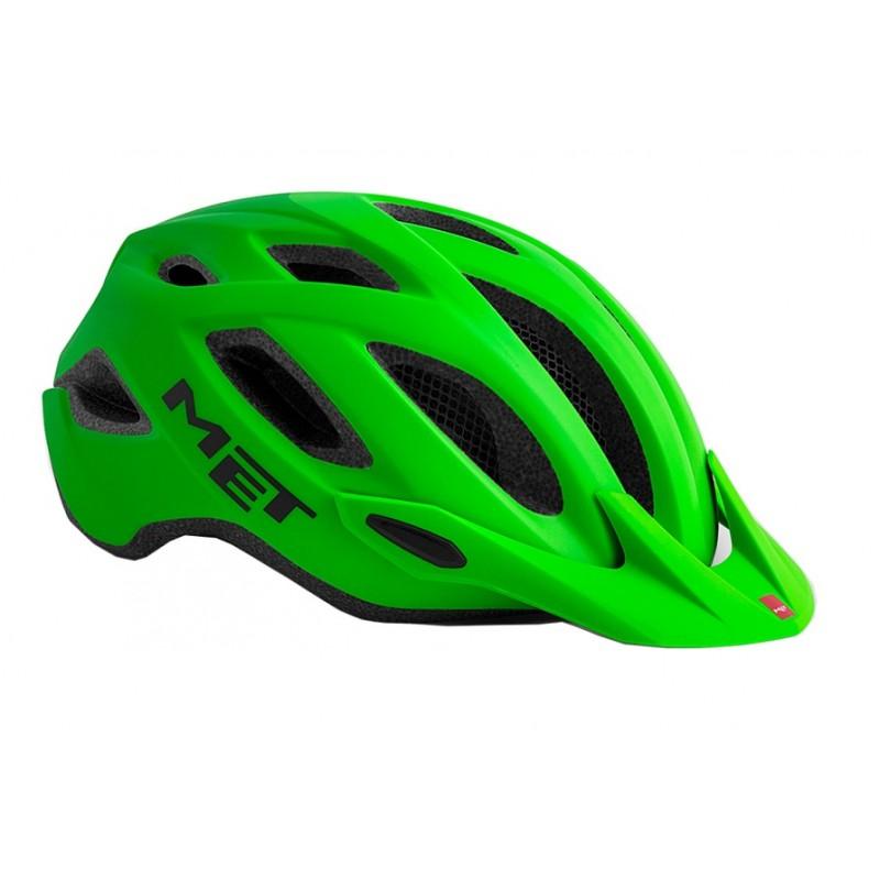 MET Crossover Active Cycling Helmet Shaded Green Matt 2019