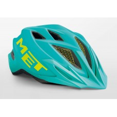 MET Crackerjack Cycling Helmet Emerald Green Matt 2019