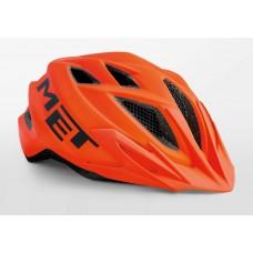 MET Crackerjack Cycling Helmet Orange Matt 2019