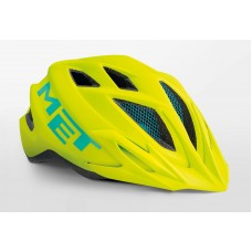 MET Crackerjack Cycling Helmet Safety Yellow Matt 2019
