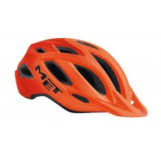 MET Crossover Active Cycling Helmet Shaded Orange Matt 2019