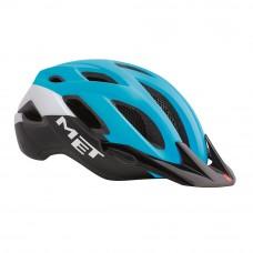 MET Crossover MTB Helmet Cyan-Black 2017