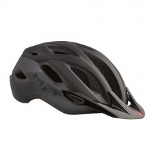 MET Crossover MTB Helmet Matt Black 2017