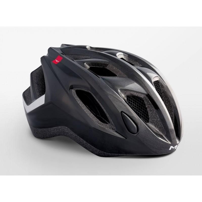 MET Espresso Active Cycling Helmet Black Glossy 2019