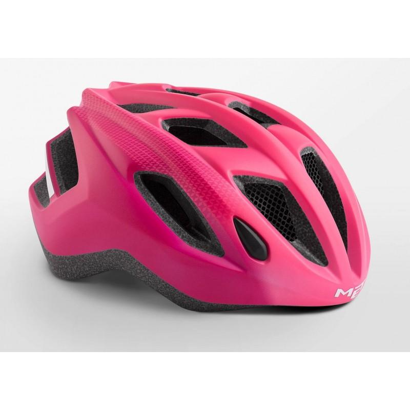 MET Espresso Active Cycling Helmet Strawberry Red Matt 2019