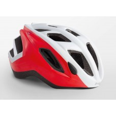 MET Espresso Active Cycling Helmet White Red Glossy 2019
