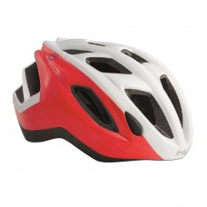 MET Espresso Road Cycling Helmet White-Red 2017