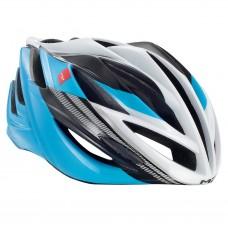 MET Forte Road Helmet, Cyan-Black-White