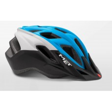 MET Funandgo Active Cycling Helmet Cyan Black White Matt 2019