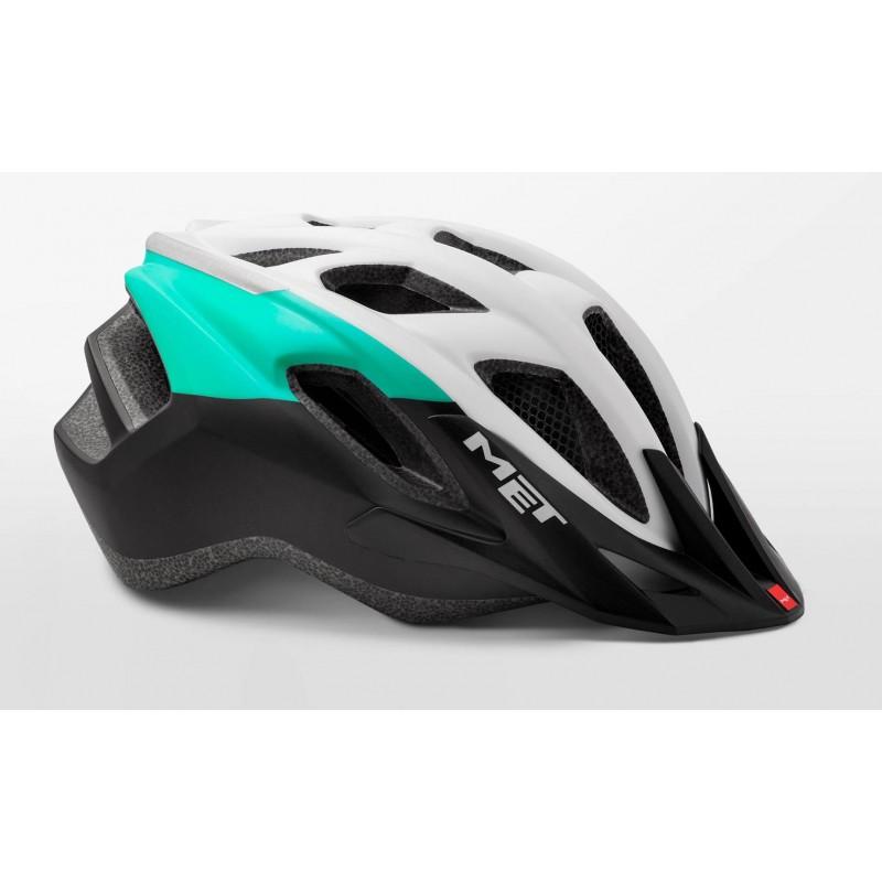 MET Funandgo Active Cycling Helmet Iridescent Mint Green Black Matt 2019