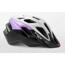 MET Funandgo Active Cycling Helmet Iridescent Violet Black Glossy 2019