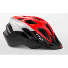 MET Funandgo Active Cycling Helmet Red Black White Glossy 2019