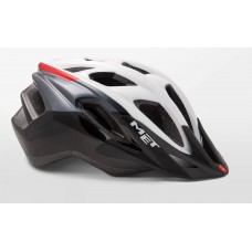 MET Funandgo Active Cycling Helmet White Black Glossy 2019