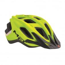 MET Funandgo Cycling Helmet Matt Safety Yellow-Black 2017