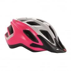 MET Funandgo Cycling Helmet Pink-White 2017
