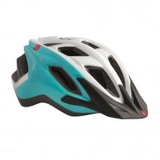 MET Funandgo Cycling Helmet White-Emerald Green 2017