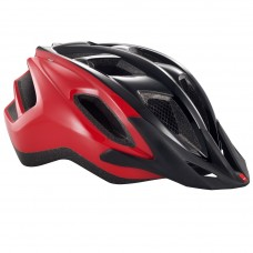 MET Funandgo MTB Helmet, Black-Red