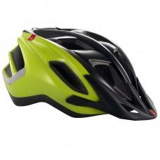 MET Funandgo MTB Helmet, Black-Safety Yellow