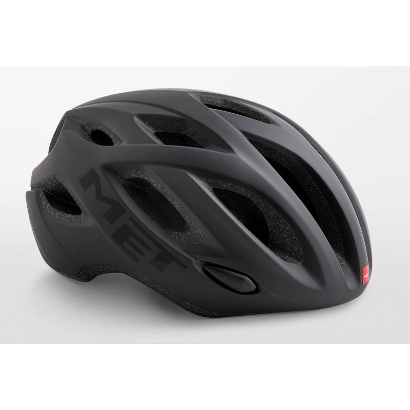 MET Idolo Road Cycling Helmet Black Matt 2019