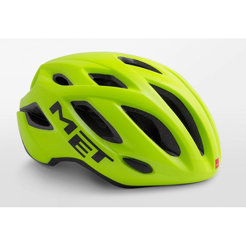 MET Idolo Road Cycling Helmet Safety Yellow Glossy 2019