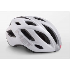 MET Idolo Road Cycling Helmet White Shaded Grey Matt 2019