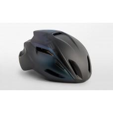 MET Manta Road Cycling Helmet Black Iridescent Matt 2019