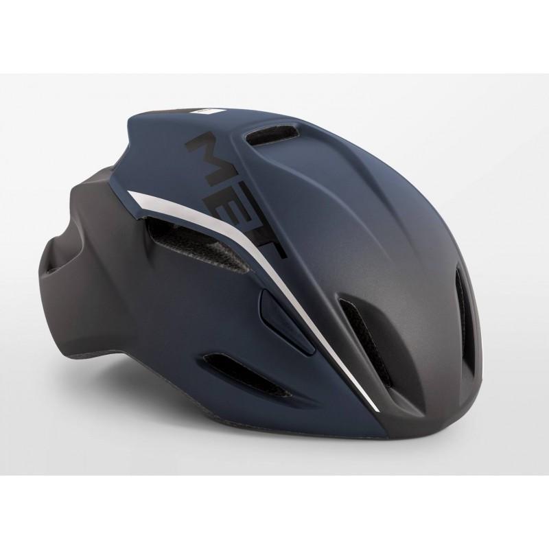 MET Manta Road Cycling Helmet Shaded Deep Blue Matt 2019