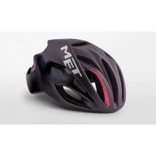 MET Rivale Road Cycling Helmet Deep Purple Black Matt 2019