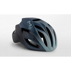 MET Rivale Road Cycling Helmet Shaded Blue Matt 2019