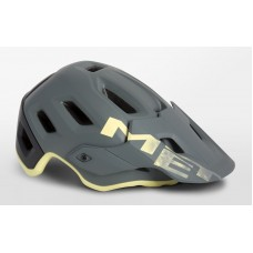 MET Roam MTB Cycling Helmet Gray Tender Yellow Matt 2019