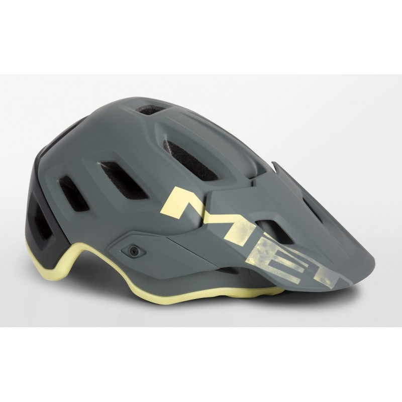 MET Roam MTB Cycling Helmet Gray Tender Yellow Matt 2019