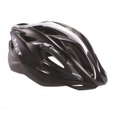 MET Xilo Cycle Helmet Black-Silver 2017