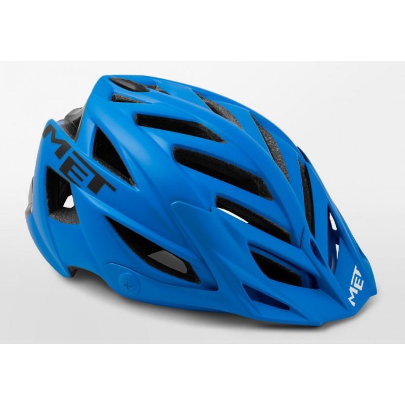 MET Terra MTB Cycling Helmet Blue Black Matt 2019