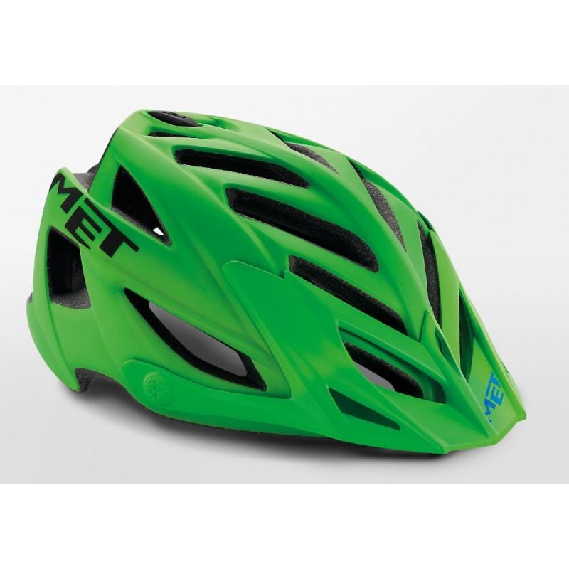 MET Terra MTB Cycling Helmet Green Black Matt 2019