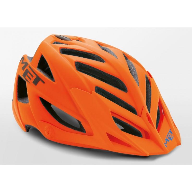 MET Terra MTB Cycling Helmet Orange Black Matt 2019