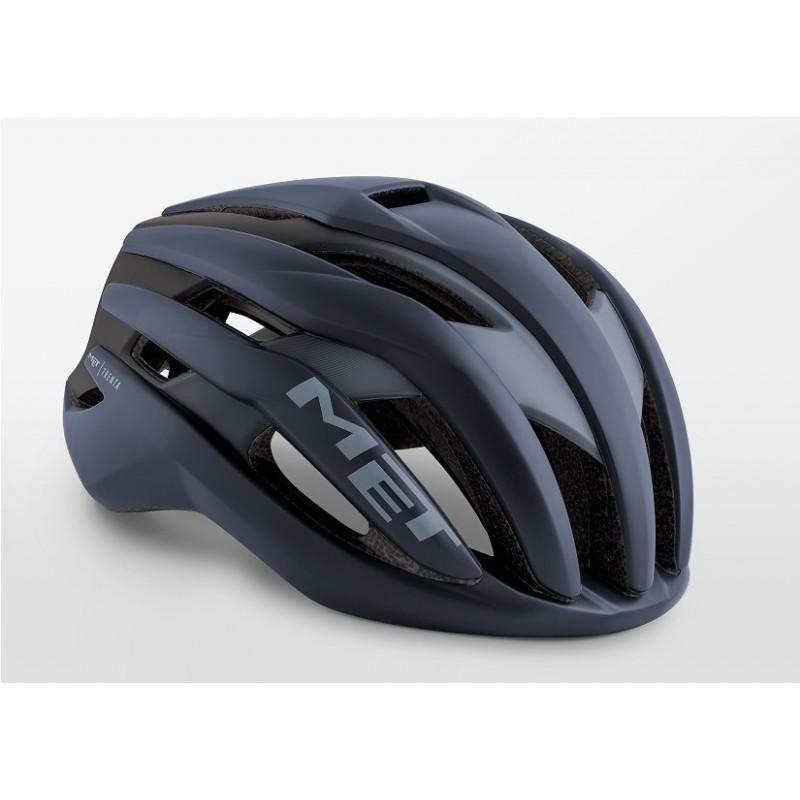 MET Trenta Road Cycling Helmet Legion Blue Sand Matt 2019