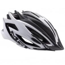 MET Veleno MTB Helmet, White-Black