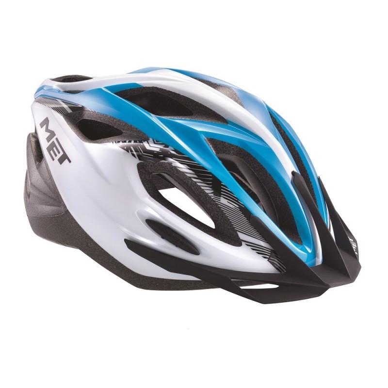 MET Xilo Cycle Helmet Cyan 2017