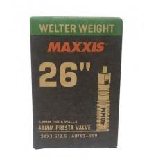 Maxxis (26X1.50/2.50) Presta 48mm Valve Cycle Tube