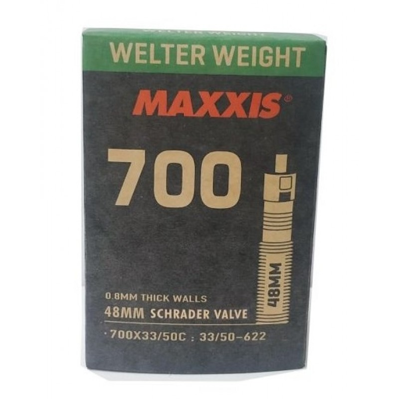 Maxxis (700X33/50C) Schrader 48mm Valve Cycle Tube