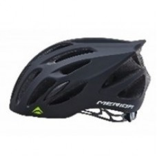Merida Agile SC25 Matt Black Green Road Bike Helmet