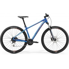 Merida Big Nine 100 Mountain Bike 2019 Glossy Blue (Red)