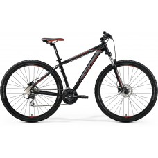 Merida Big Nine 20-MD Mountain Bike 2019 Matt Black (Red/Silver)